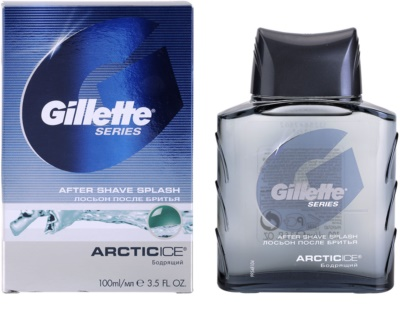 Gillette Series Artic Ice aftershave water 1