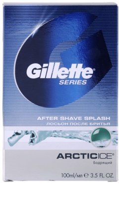 Gillette Series Artic Ice aftershave water 2