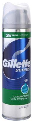 Gillette Series gel de barbear com manteiga de cacau