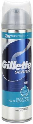Gillette Series gel de ras