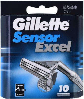Gillette Sensor Excel Ersatzklingen