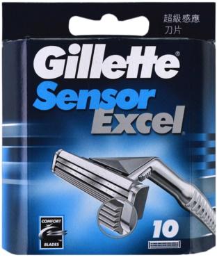 Gillette Sensor Excel zapasowe ostrza
