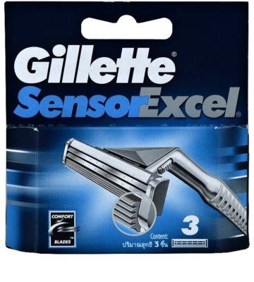 Gillette Sensor Excel nadomestne britvice za moške
