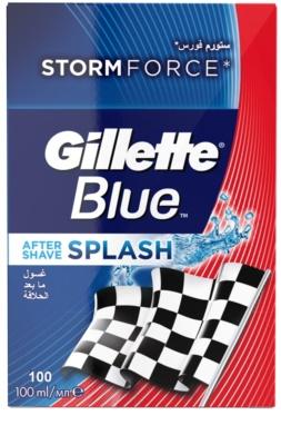 Gillette Blue Splash aftershave water 1