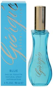 Giorgio Beverly Hills Blue Eau de Toilette para mulheres