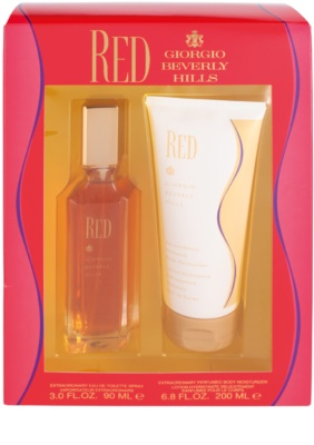 Giorgio Beverly Hills Red set cadou