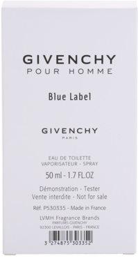 Givenchy Pour Homme Blue Label woda toaletowa tester dla mężczyzn 3