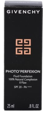 Givenchy Photo'Perfexion Korrektur Make-up SPF 20 4