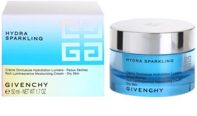Givenchy Hydra Sparkling vlažilna krema za suho kožo 2