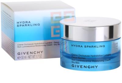 Givenchy Hydra Sparkling crema hidratanta ten uscat 3