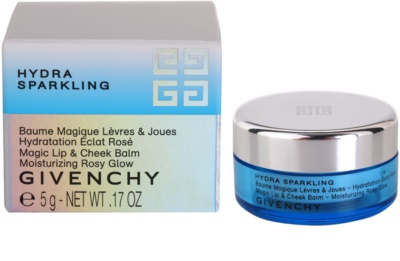 Givenchy Hydra Sparkling aufhellender Balsam für Lippen und Wangen 2
