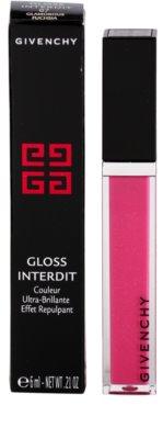 Givenchy Gloss Interdit lesk na rty pro objem a lesk 2
