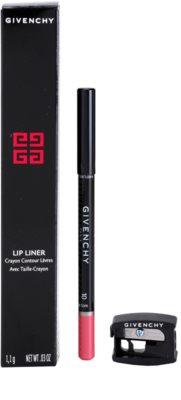 Givenchy Lip Liner creion contur pentru buze, waterproof cu ascutitoare 1