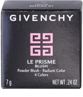 Givenchy Le Prisme pudrowy róż z pędzelkiem 3