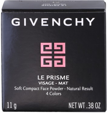 Givenchy Le Prisme pó compacto com pincel 3