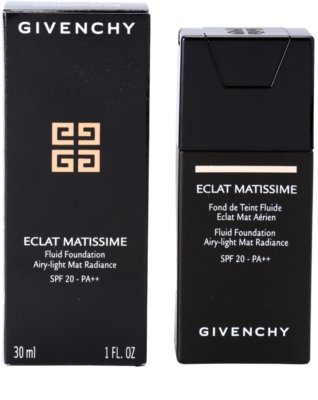 Givenchy Matissime leichtes mattierendes Make-up SPF 20 2