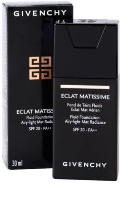 Givenchy Matissime leichtes mattierendes Make-up SPF 20 3