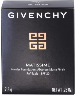 Givenchy Matissime pó matificante  SPF 20 3