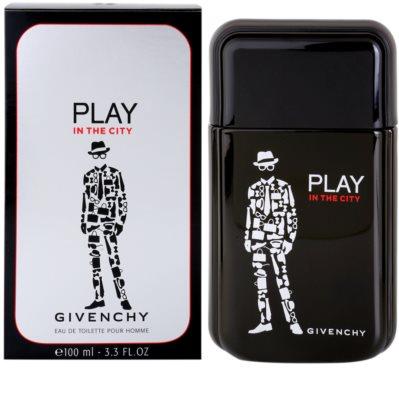 Givenchy Play In the City Eau de Toilette pentru barbati