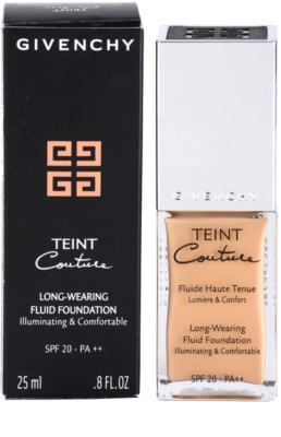 Givenchy Teint Couture langlebiges Flüssig Make-up SPF 20 2