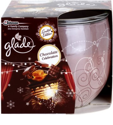 Glade Chocolate Celebration vela perfumado