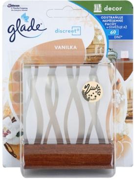 Glade Discreet Decor ambientador  + soporte Vanilla