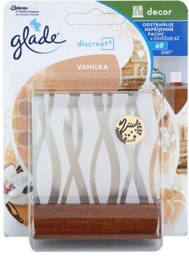 Glade Discreet Decor osvěžovač vzduchu  + stojan Vanilla