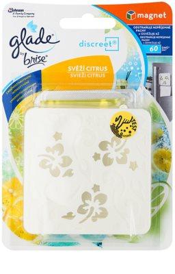Glade Discreet Magnet aroma difuzér s náplní  s náplní Fresh Citrus