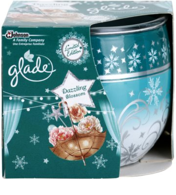 Glade Dazzling Blossom Scented Candle