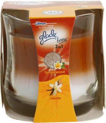 Glade Sandalwood and Vanilla świeczka zapachowa