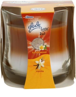 Glade Sandalwood and Vanilla ароматизована свічка