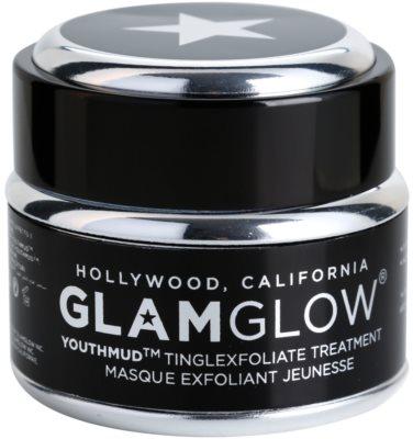 Glam Glow YouthMud máscara de lama negra para uma pele radiante
