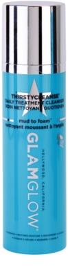 Glam Glow Thirsty Cleanse espuma limpiadora  desmaquillante con efecto humectante