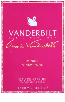 Gloria Vanderbilt Minuit New a York Eau de Parfum für Damen 4