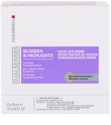 Goldwell Dualsenses Blondes & Highlights serum do włosów po balejażu