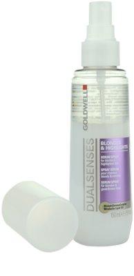 Goldwell Dualsenses Blondes & Highlights spray protector para cabello con mechas 1