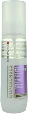Goldwell Dualsenses Blondes & Highlights spray protector pentru par cu suvite