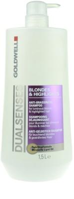 Goldwell Dualsenses Blondes & Highlights szampon do włosów po balejażu