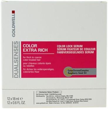 Goldwell Dualsenses Color Extra Rich bezoplachové sérum pro hrubé, barvené vlasy 2
