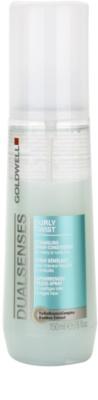 Goldwell Dualsenses Curly Twist odżywka nadająca kształt w sprayu do włosów kręconych i po  trwałej ondulacji