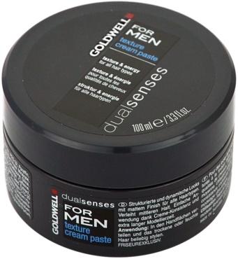 Goldwell Dualsenses For Men pasta modeladora para todos os tipos de cabelos