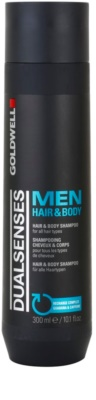 Goldwell Dualsenses For Men šampon in gel za prhanje 2v1