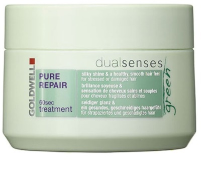 Goldwell Dualsenses Green Pure Repair máscara regeneradora para cabelo cansado e danificado