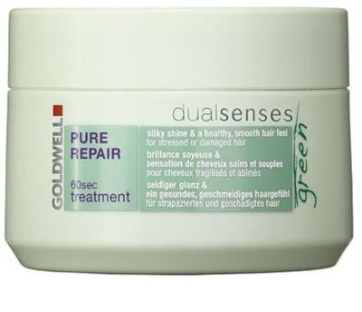 Goldwell Dualsenses Green Pure Repair regeneracijska maska za poškodovane lase
