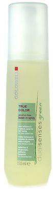 Goldwell Dualsenses Green True Color leöblítést nem igénylő ápolás festett hajra