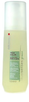 Goldwell Dualsenses Green True Color nega brez spiranja za barvane lase