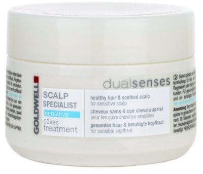 Goldwell Dualsenses Scalp Specialist máscara para o couro cabeludo sensível