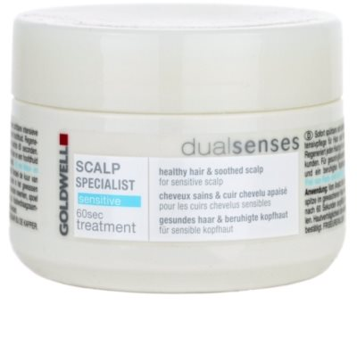 Goldwell Dualsenses Scalp Specialist Maske für empfindliche Kopfhaut