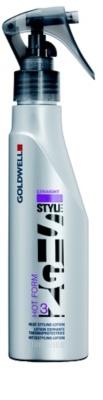 Goldwell StyleSign Straight spray styling para cabelo danificado pelo calor