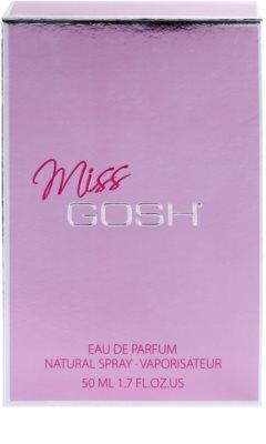 Gosh Miss Gosh eau de parfum nőknek 4